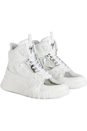 Giuseppe Zanotti Talon Jr snakeskin-effect sneakers