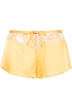Gilda & Pearl Persephone silk-blend shorts