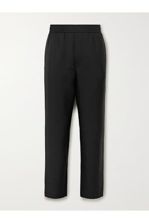 Acne Studios Pismo Wool and Mohair-Blend Trousers