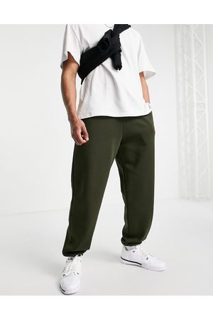 River Island Oversized joggers in khaki