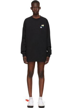 Off-White Check Arrows Sweater Dress