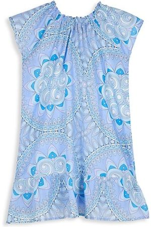 Vilebrequin Little Girl's & Girl's Mandala Abstract-Floral Cotton Voile Dress