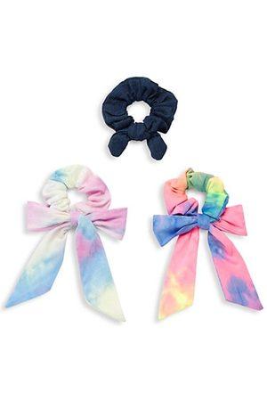 Bari Lynn 3-Piece Tie-Dye Hair Tie Set