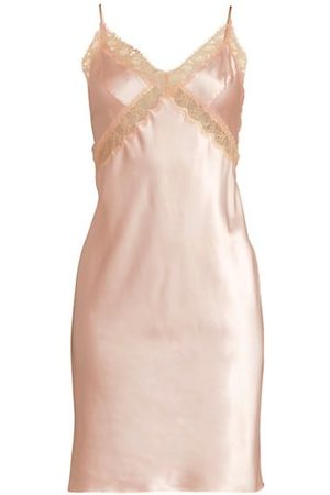 Kiki de Montparnasse Lace Inset Slip Dress