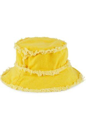 JOCELYN Girls Hats - Kid's Frayed Bucket Hat