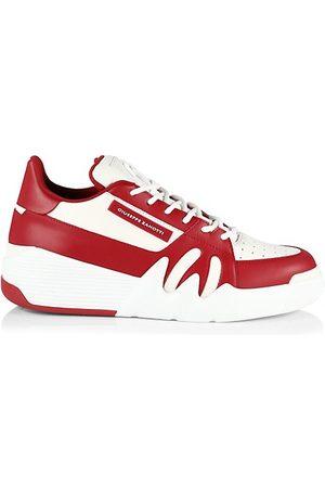 Giuseppe Zanotti Men Sneakers - Talon Two-Tone Leather Chunky Sneakers