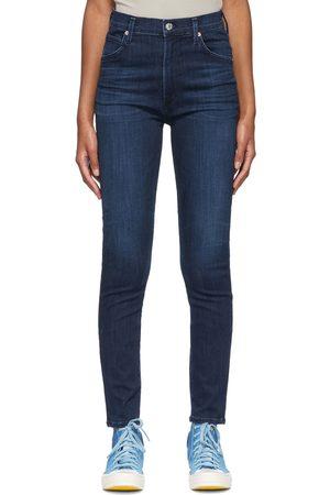Citizens of Humanity Indigo Chrissy Skinny Jeans