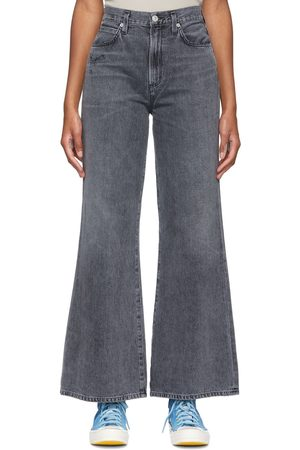 Citizens of Humanity Grey Rosanna Wide Leg Jeans