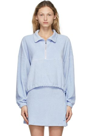 Gil Rodriguez Terry Half-Zip Diana Pullover
