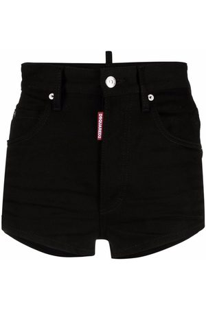 Dsquared2 Icon high-waisted denim shorts