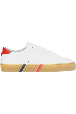 Burberry Leather lace-up sneakers