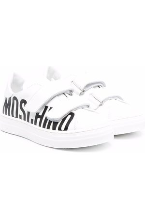 Moschino Side logo-print sneakers