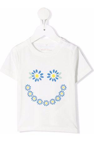 Stella McCartney Floral-print organic-cotton T-shirt
