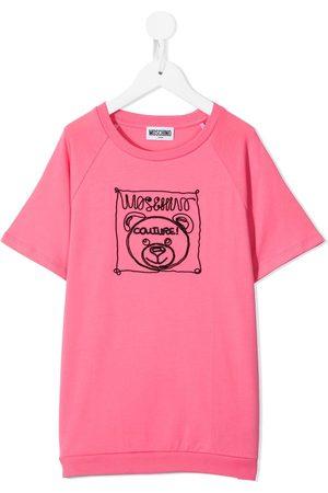 Moschino Teddy logo-print T-shirt