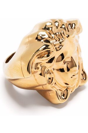 VERSACE Medusa Head oversized ring