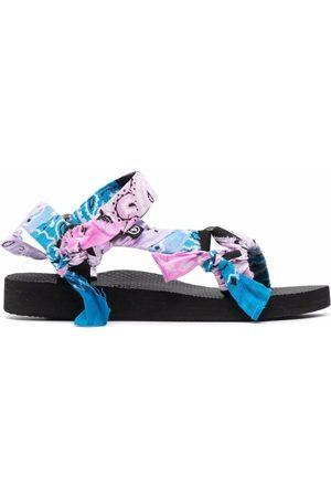 Arizona Love Bandana-detail open-toe sandals