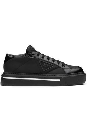 Prada Macro brushed sneakers