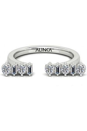 ALINKA 18kt white gold AMALFI diamond ring