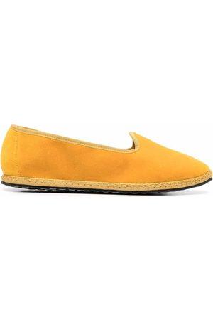 VIBI VENEZIA Stitch-trim slip-on slippers