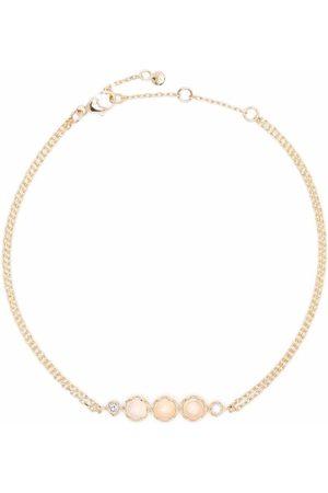 Dinny Hall 14kt yellow opal and diamond bracelet