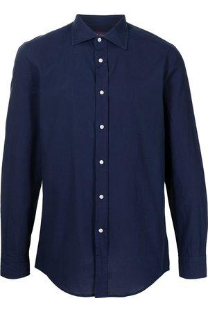Polo Ralph Lauren Men Long sleeves - Long-sleeved cotton shirt