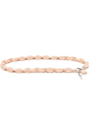 MM6 MAISON MARGIELA Padlock charm belt
