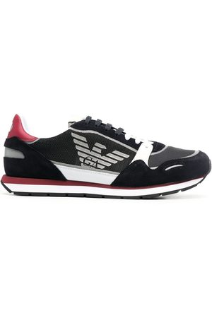Emporio Armani Logo-print low-top sneakers