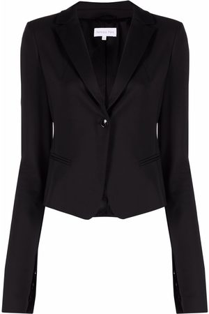 Patrizia Pepe Women Blazers - Single-breasted slit-sleeve blazer