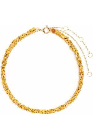 The Alkemistry Women Bracelets - 18kt yellow and silk Kumachi bracelet