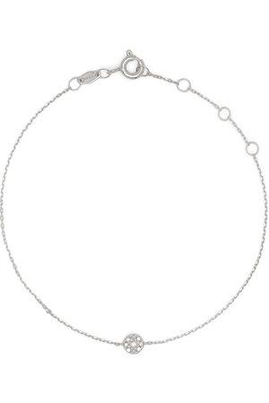DJULA 18kt white gold Target diamond chain bracelet