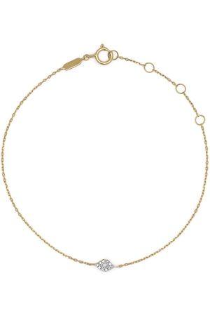 DJULA Women Bracelets - 18kt yellow Eye diamond bracelet
