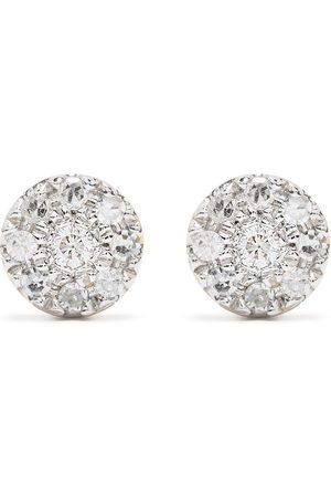 DJULA 18kt yellow diamond Target earrings