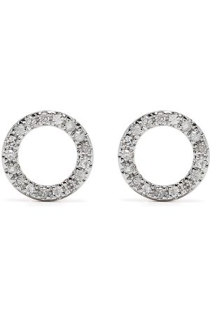 DJULA 18kt rose gold diamond Circle earrings