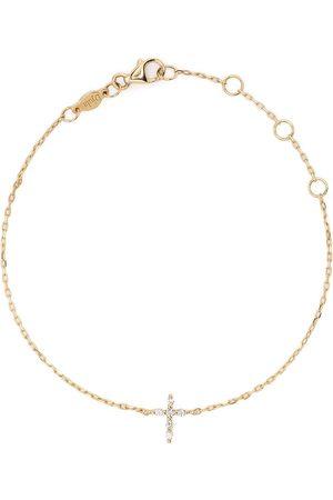 DJULA Women Bracelets - 18kt yellow Cross diamond chain bracelet