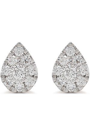 DJULA 18kt yellow diamond Pear earrings