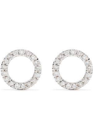 DJULA Men Earrings - 18kt yellow diamond Circle earrings