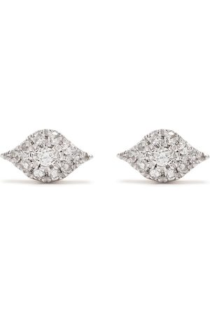 DJULA Men Earrings - 18kt rose gold diamond Eyes earrings