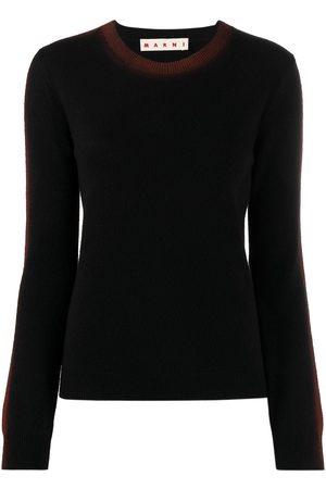 Marni Women Long Sleeve - Side-stripe detail long-sleeve jumper