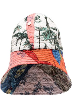 BY WALID Men Hats - Safety patchwork balaclava
