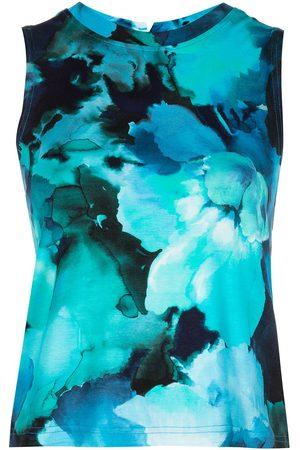 Marchesa Notte Women Tank Tops - Tie-dye-print tank top