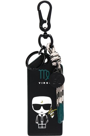 Karl Lagerfeld K/Zodiac Virgo keychain