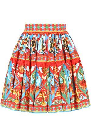 Dolce & Gabbana Women Printed Skirts - Graphic-print flared skirt