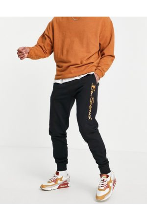 Ben Sherman Large logo jogger with gold print