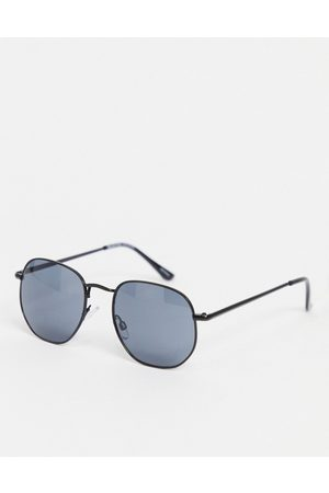 SELECTED Round angled sunglasses in