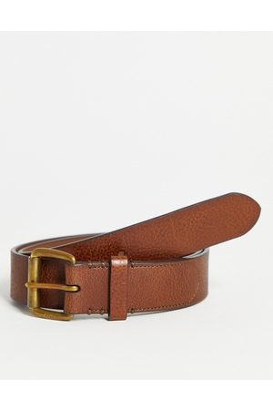Polo Ralph Lauren Leather belt in with gold logo