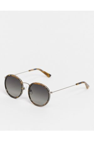 Weekday Explore Sunglasses in Tortoiseshell