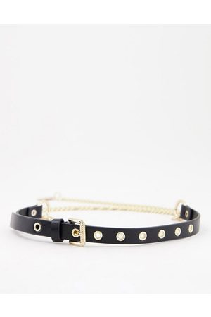 ASOS Hanging chain waist and hip belt in
