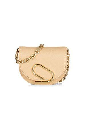 3.1 Phillip Lim Mini Alix Leather Card-Case-On-Chain