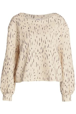 The Upside Jackie Leopard-Print Sweatshirt