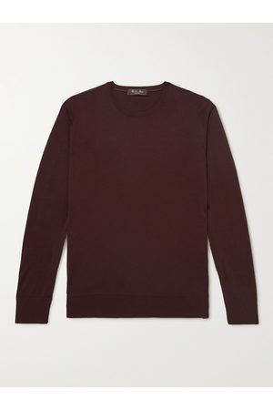 Loro Piana Men Jumpers - Virgin Wool Sweater